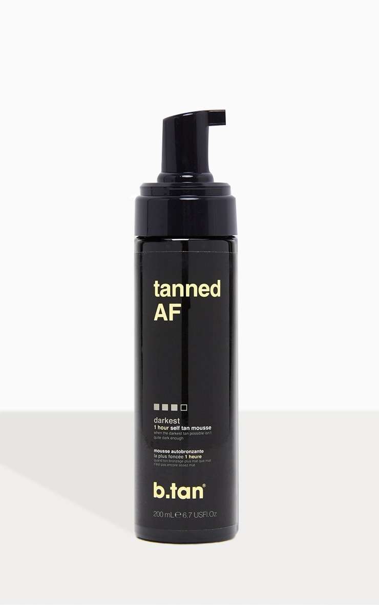 b.tan tanned AF... self tan mousse 2