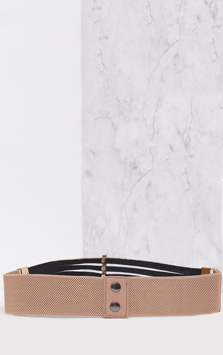 Ilena Nude Multi Strap Detail Belt 4