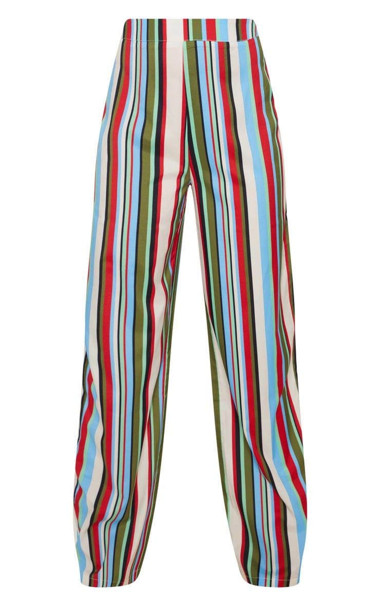 Multi Stripe Wide Leg Trouser 3
