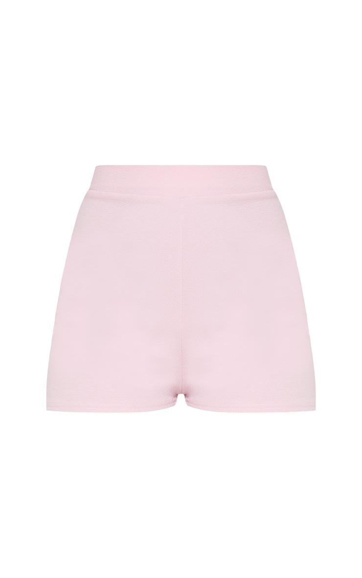 Pink Suit Shorts 4
