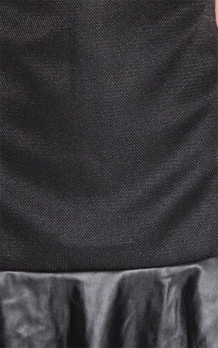 Ana Black Drop Hem Dress 5