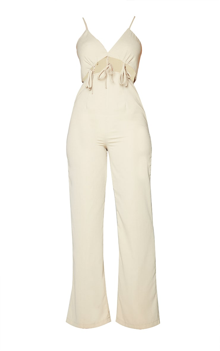 Stone Cut Out Tie Detail Strappy Jumpsuit 5