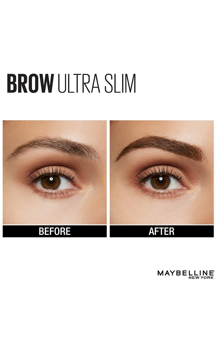 Maybelline Brow Ultra Slim Defining Fuller Brows Pencil 06 Black Brown 4