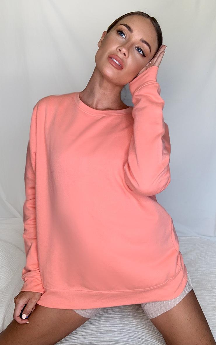 Peach Ultimate Oversized Sweater 1