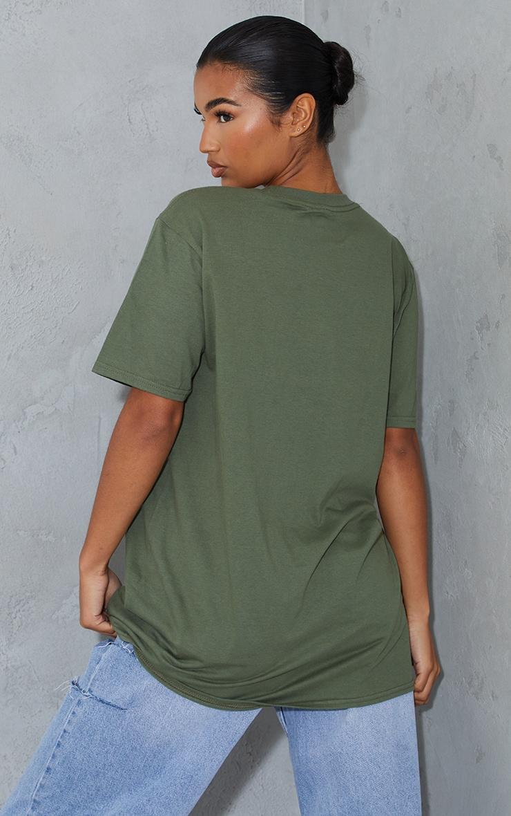 Khaki Boyfriend T Shirt 2