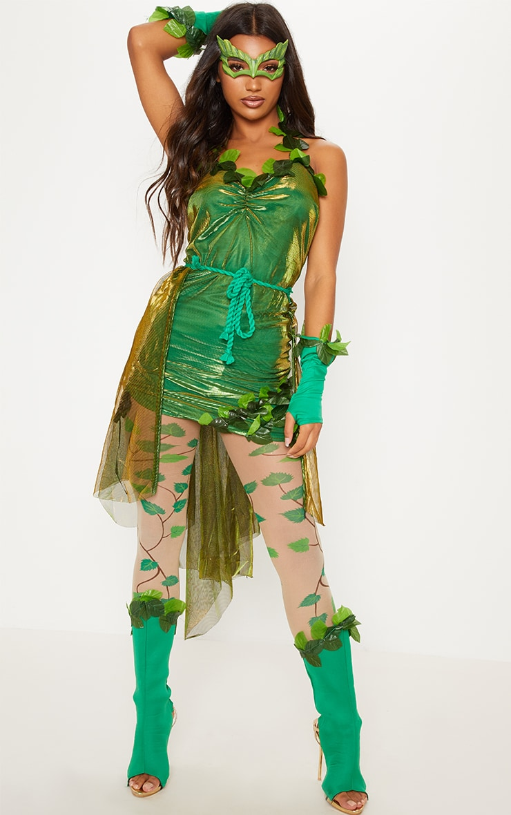 Nice Green Poison Ivy Costume