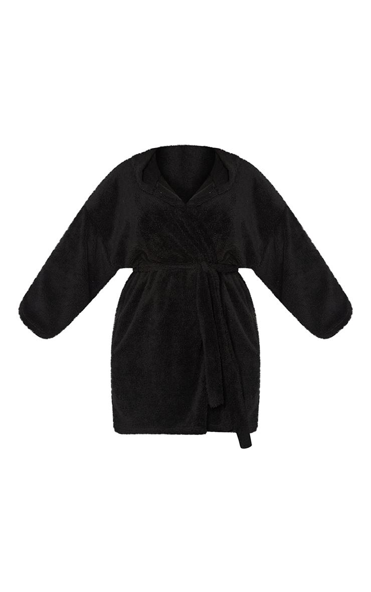 Plus Black Borg Dressing Gown 5