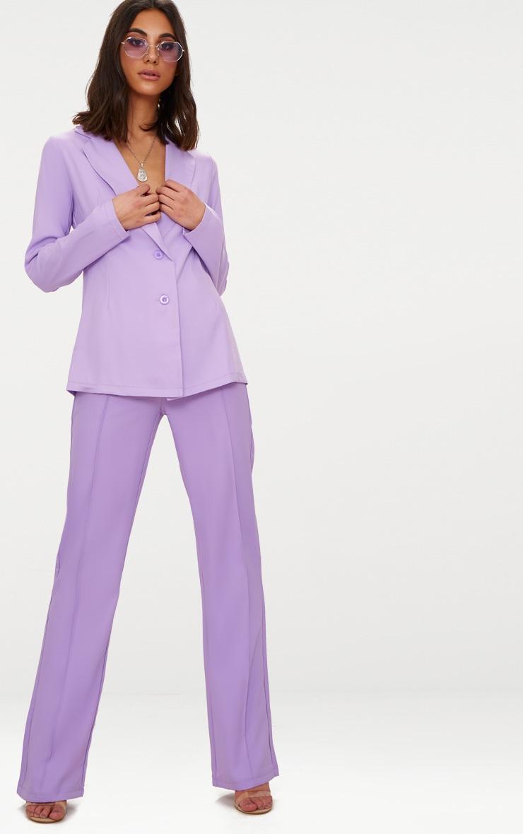 Lilac Boyfriend Blazer 1