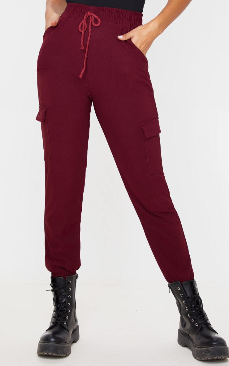 Wine Cargo Pocket Pants 2