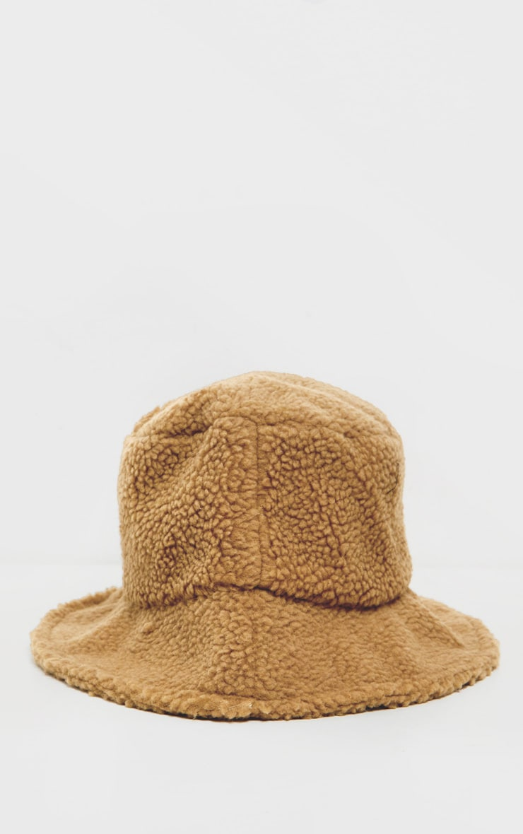 Camel Borg Bucket Hat 2