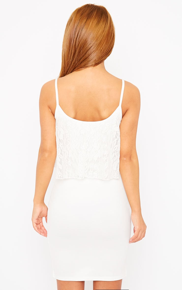 Gildi White Frill Detail Dress 2