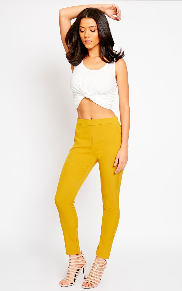 Kit Mustard Trousers 5