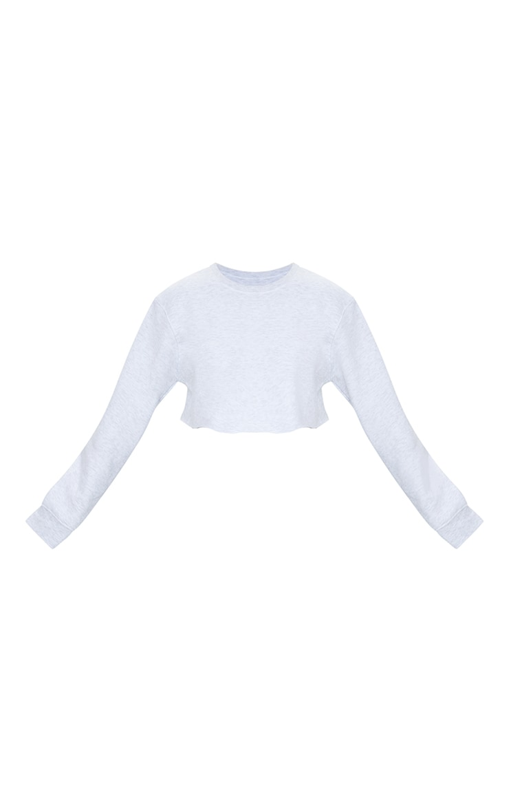 Petite Ash Grey Ultimate Cropped Sweater 5