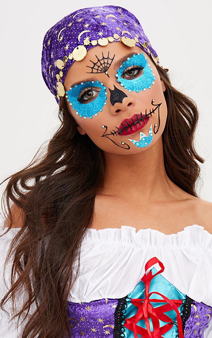 Sugar Skull Face Stickers 1