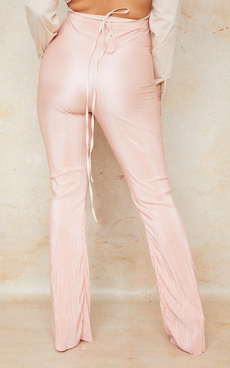 Maternity Stone Plisse Flared  Pants 3