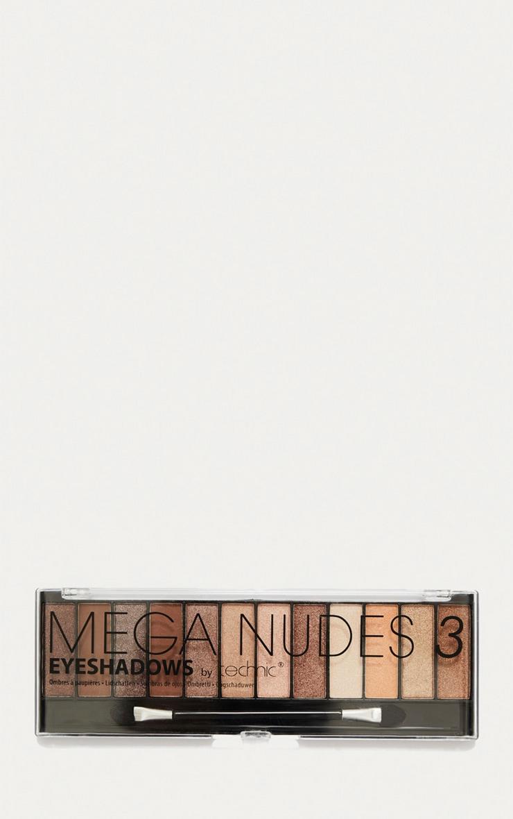 Technic Mega Nudes 3 Eyeshadow Palette 2