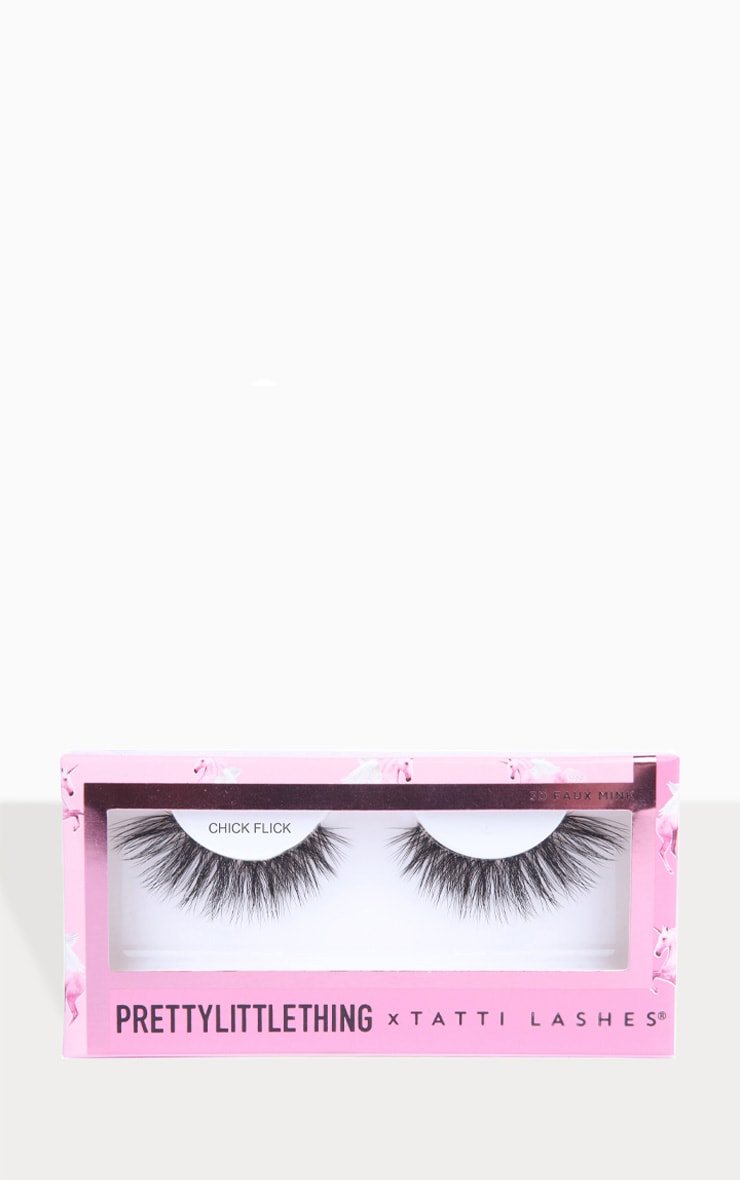 PRETTYLITTLETHING X Tatti Lashes Chick Flick 4