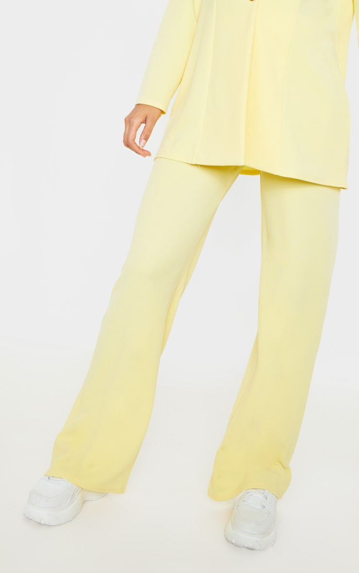 Lemon Wide Leg Pants 5