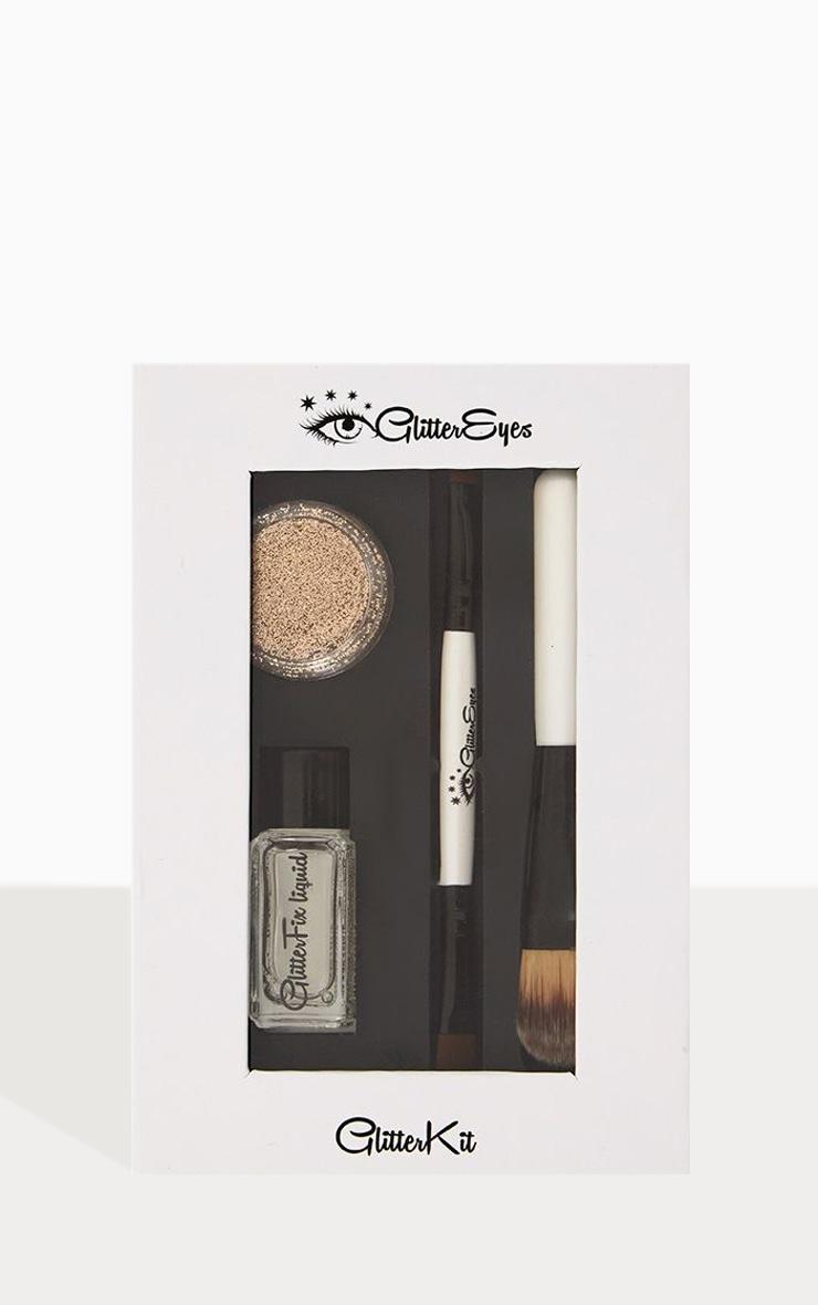 Kit de paillettes sable scintillant GlitterEyes 1