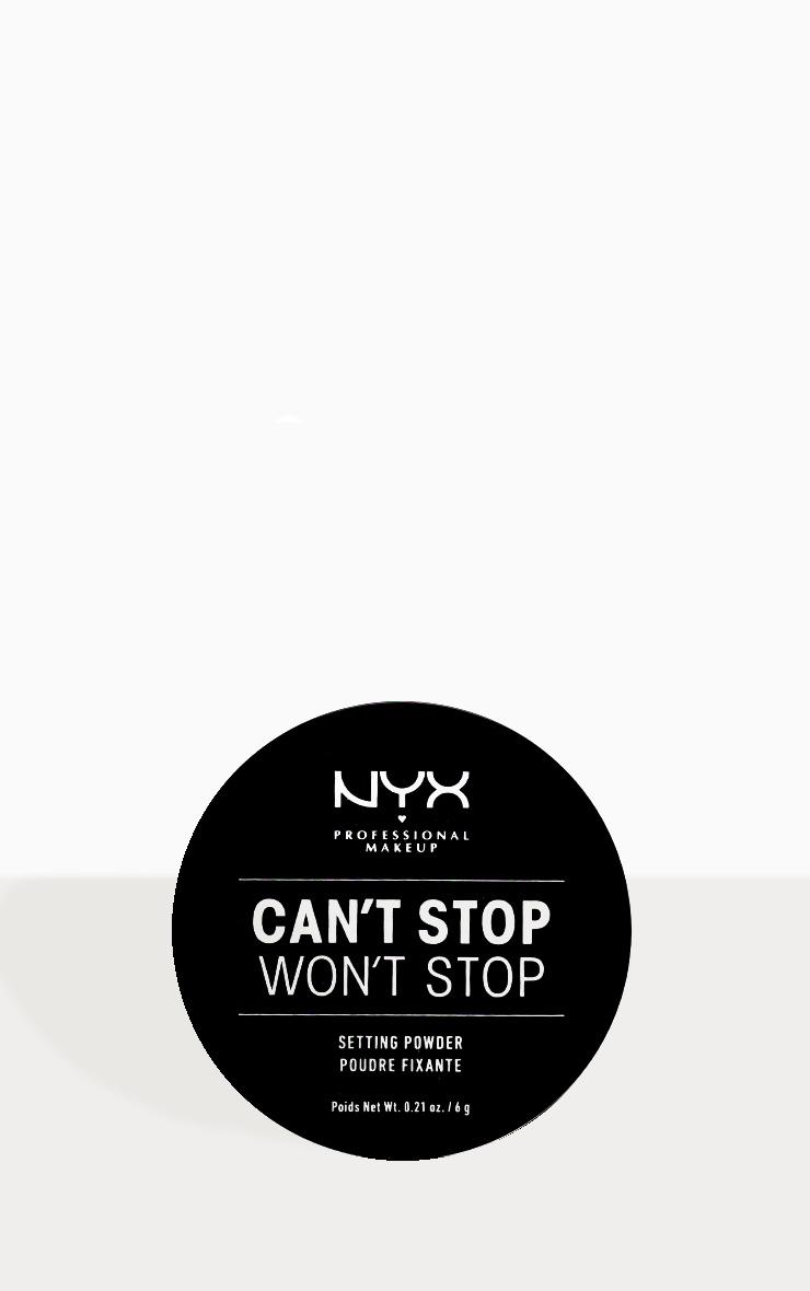 NYX Professional Makeup Can't Stop Won't Stop Setting Powder Light Medium 2