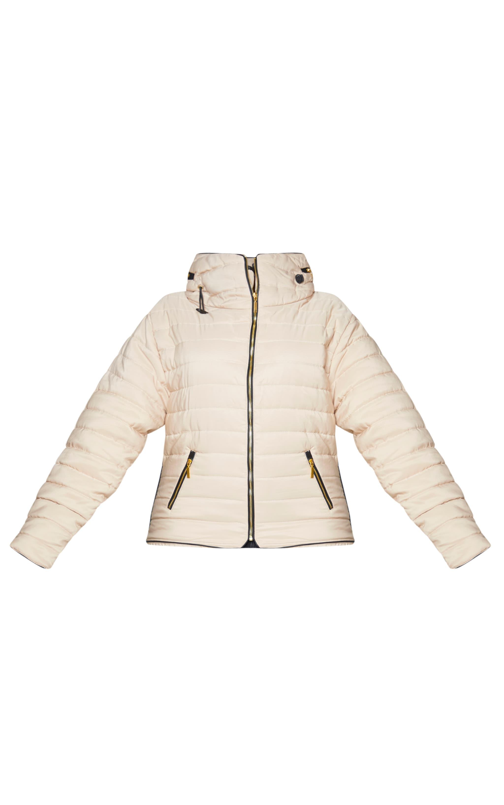 Plus Mara Stone Puffer Jacket 5