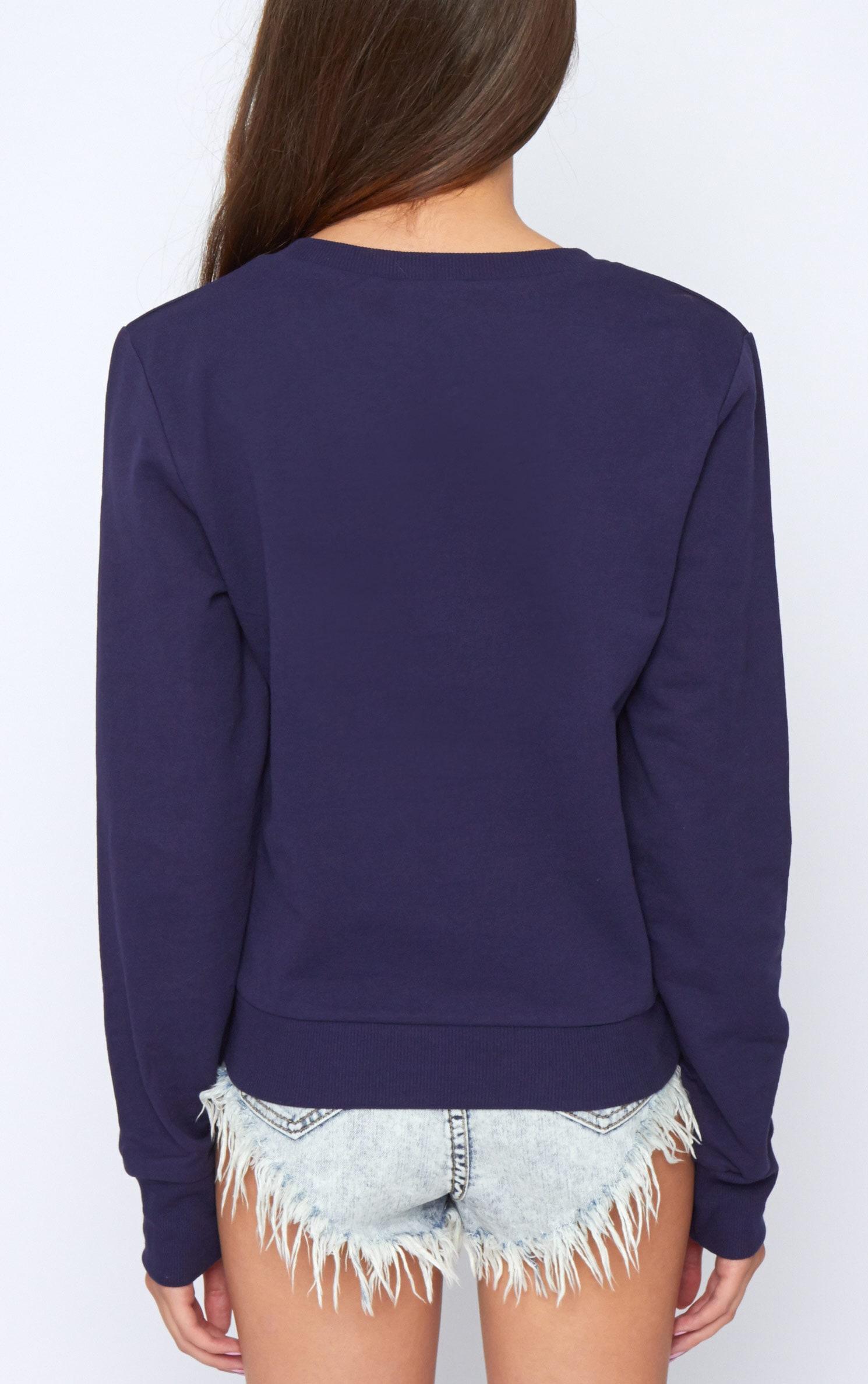 Dionne Navy 'A' Sweatshirt 2