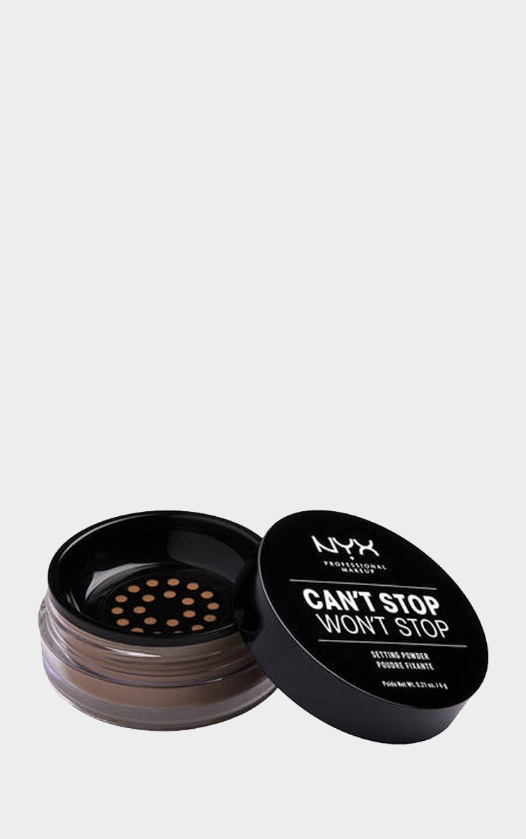 NYX PMU Can't Stop Won't Stop Setting Powder Medium Deep 1