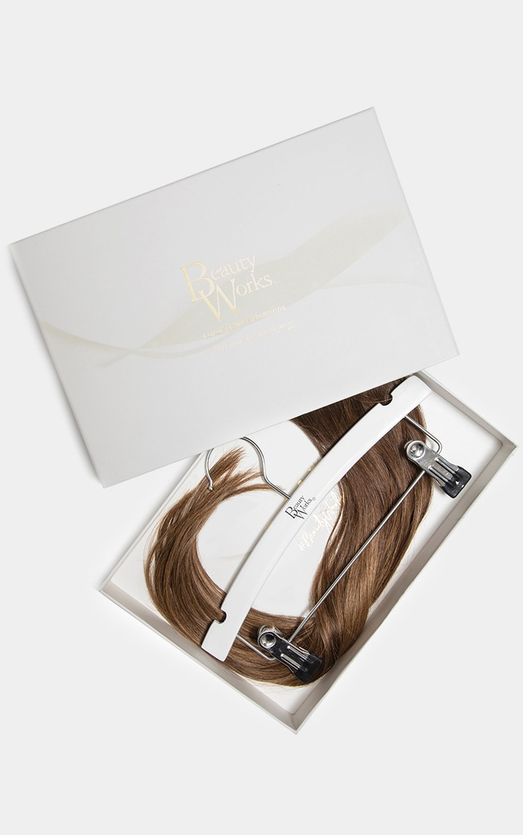 Beauty Works Double Hair Set Weft 18 Inch Brond'mbre 50 Grams 1