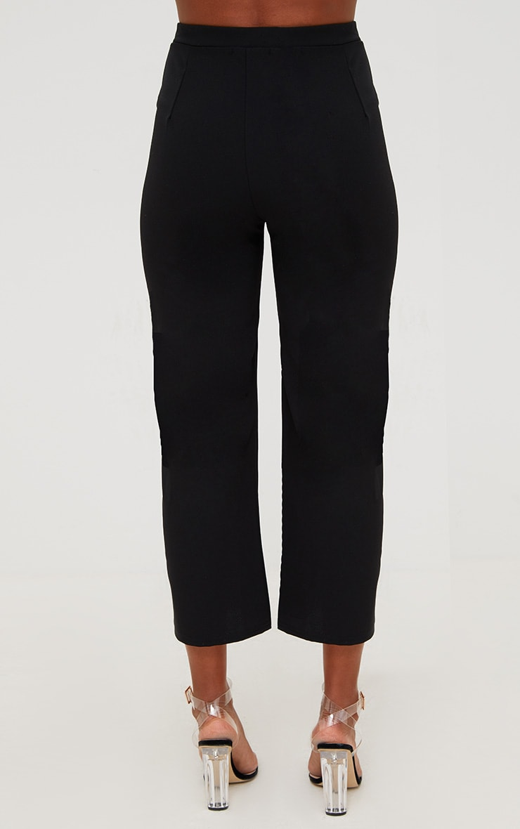 Pantalon large noir court 4
