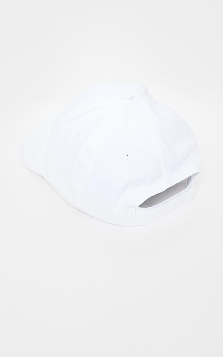 Casquette de baseball blanche 4
