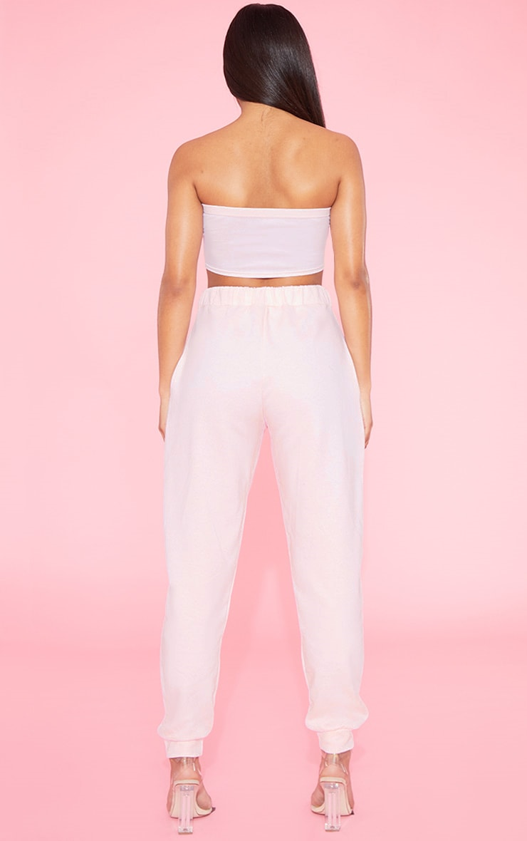 RECYCLED Blush Bandeau Crop Top 5