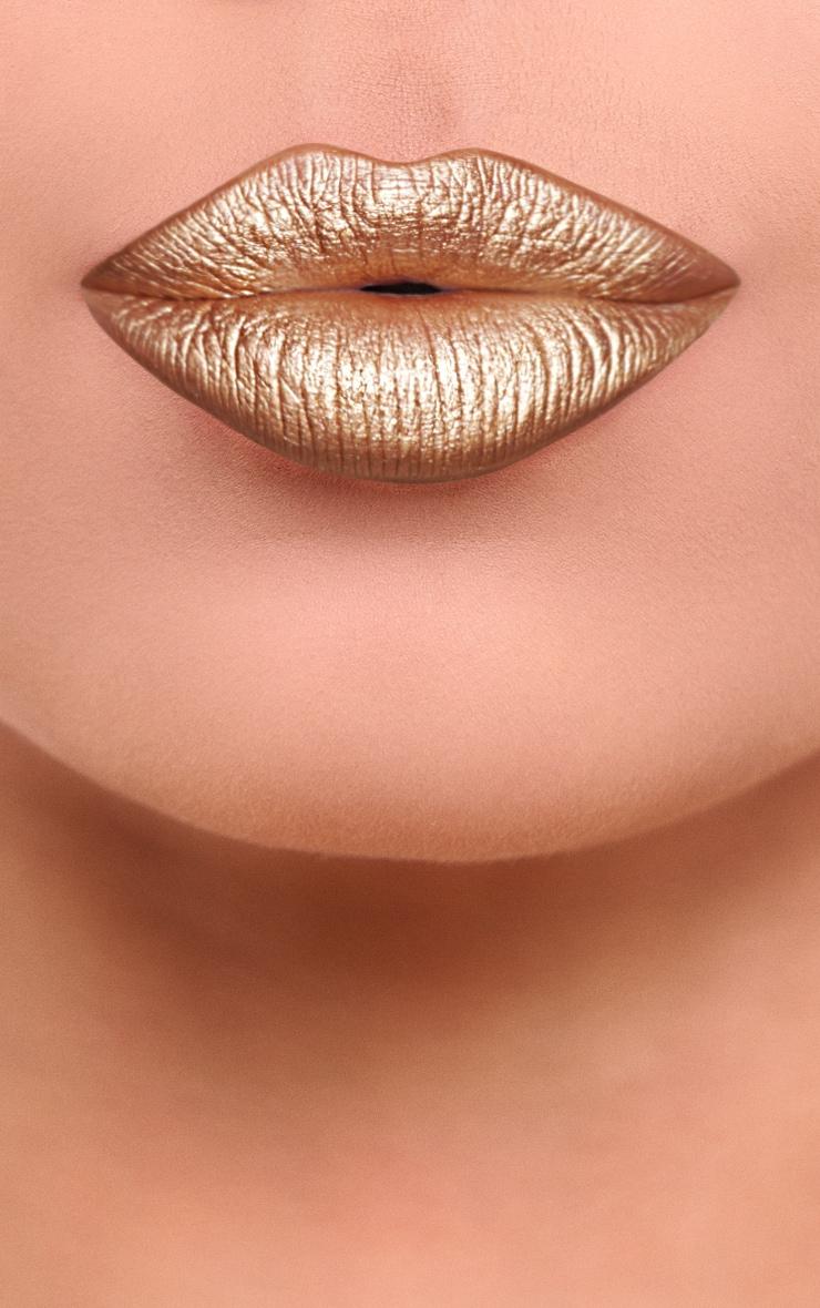 Gerard Cosmetics Metal Matte Liquid Lipstick Vegas 2