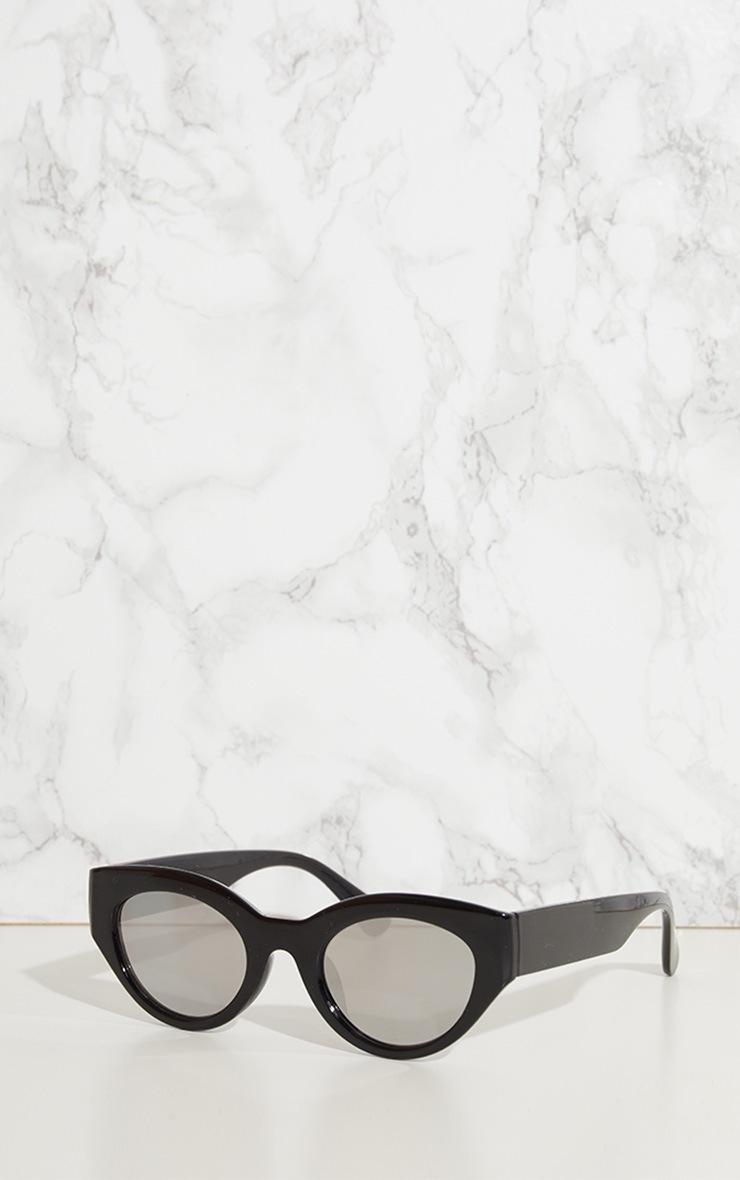 Black Retro Style Sunglasses 2