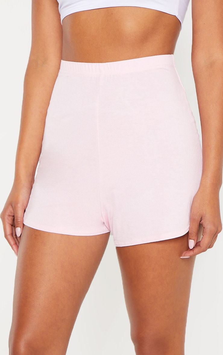 Pastel Pink Basic Runner Short 6
