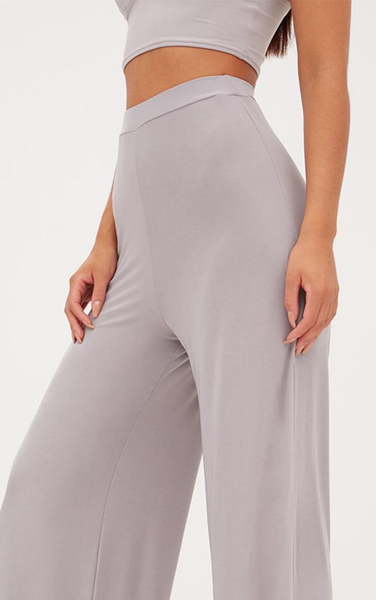 Jill Grey Slinky Palazzo Trousers 4