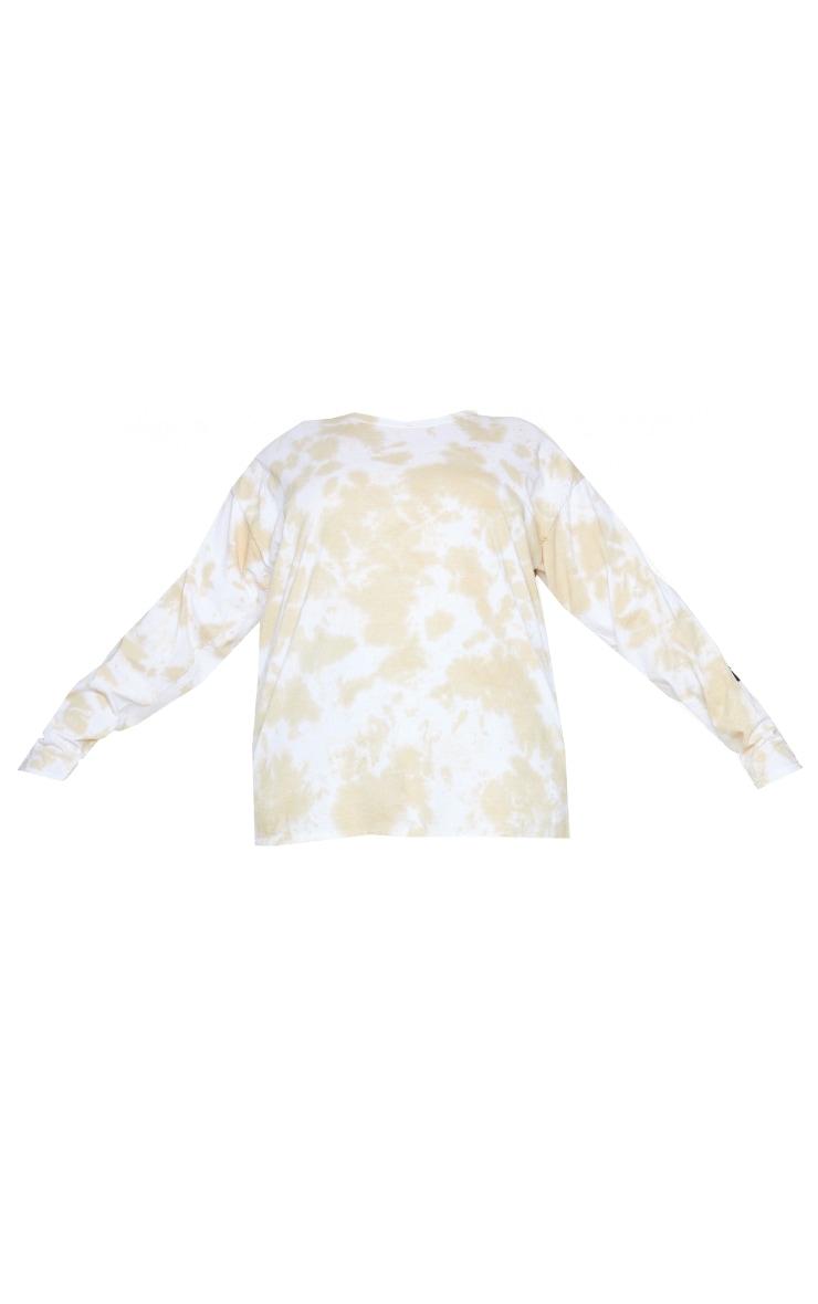 Plus Stone Tie Dye Tokyo Long Sleeve T-Shirt 5