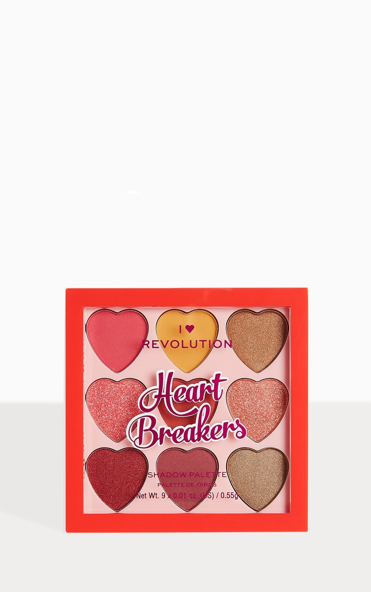 I Heart Revolution Heartbreakers Eyeshadow Palette Courage 2