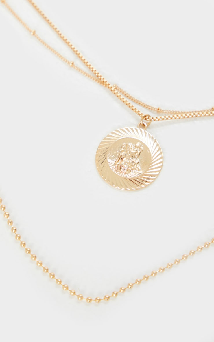 Gold Multi Layer Assorted Necklace 4