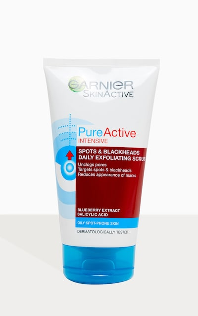 Garnier Pure Active Intensive Blackhead Exfoliating Face Scrub