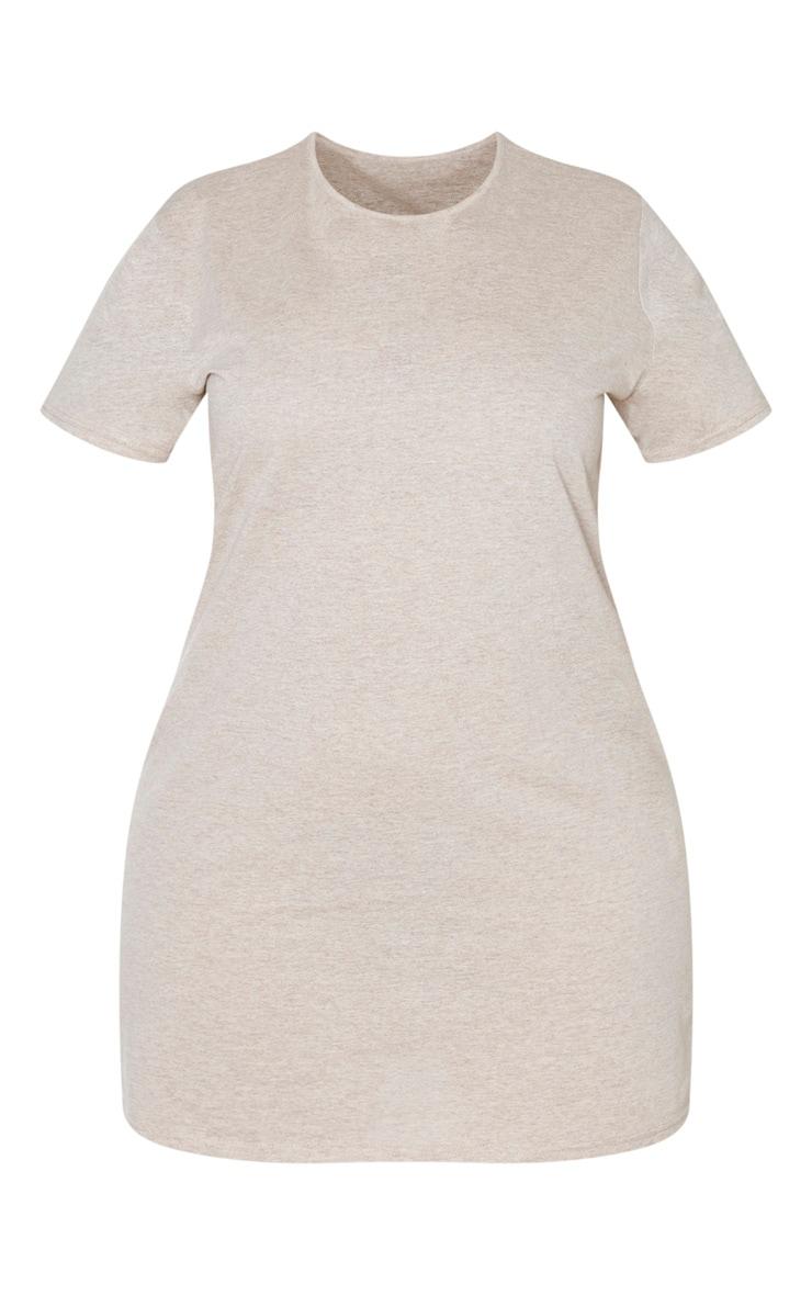 Plus Stone T Shirt Dress  3