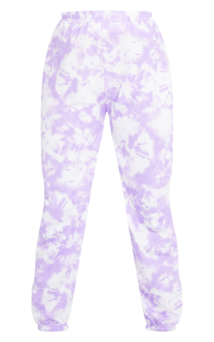 Petite Purple Tie Dye Jogger 5