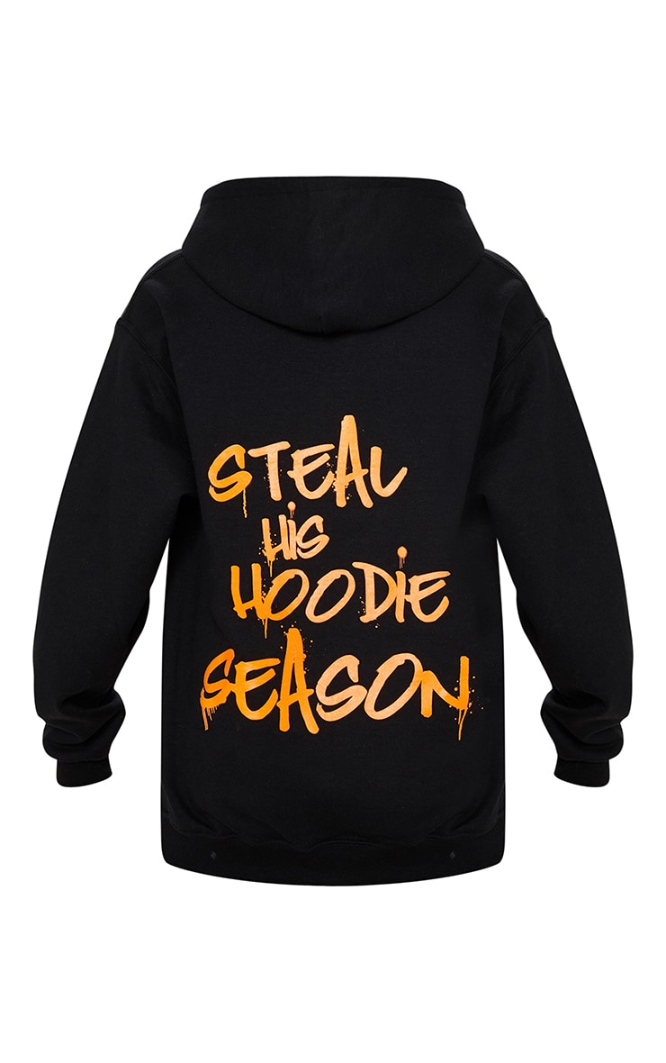 Black Steal His Slogan Hoodie 6