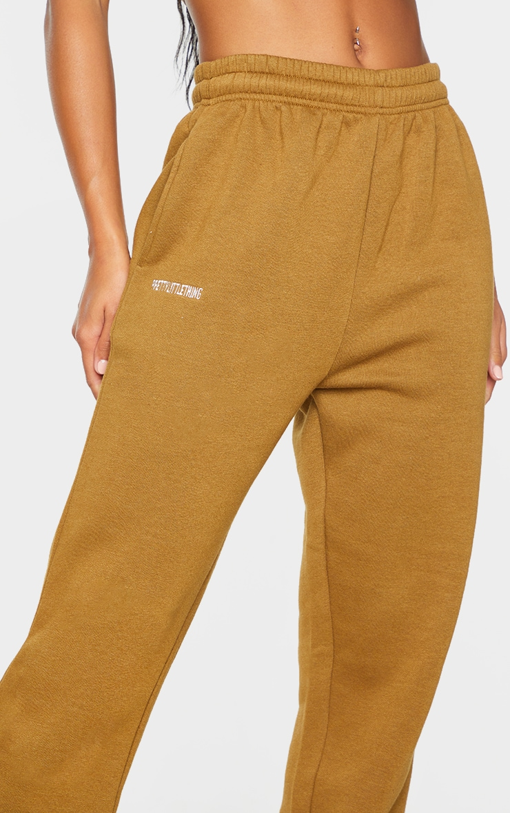 PRETTYLITTLETHING Dusty Brown Lounge Joggers 4