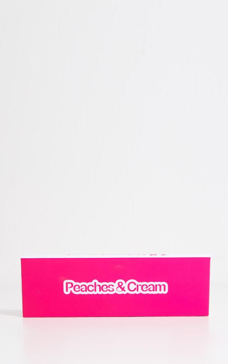 Palette de fards à paupières 4couleurs Peaches & Cream 2