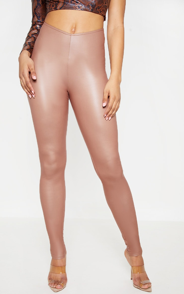Tall Stone V Front PU Legging  2