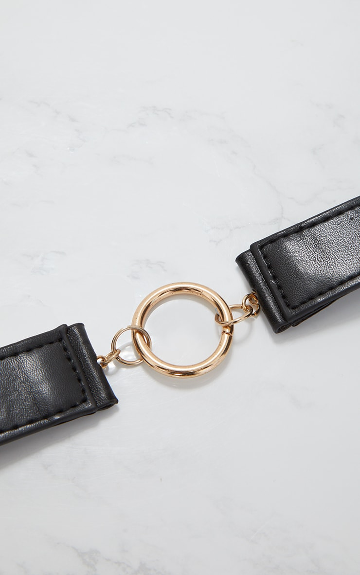 Black Circle Link Belt 5