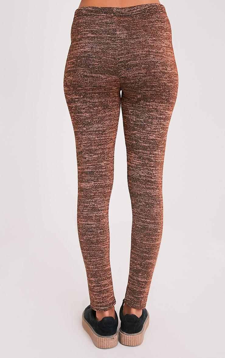 Sophie Bronze Metallic Leggings 4