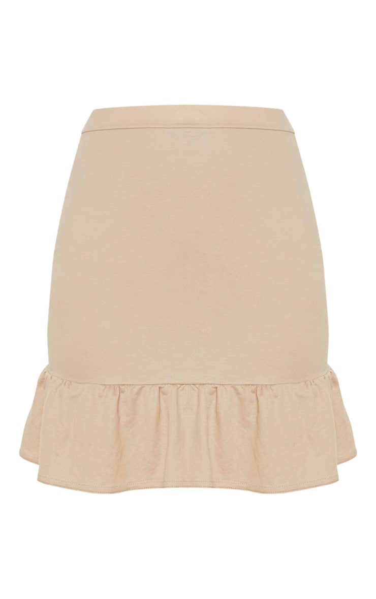 Stone Woven Frill Detail Strappy Crop Top 3