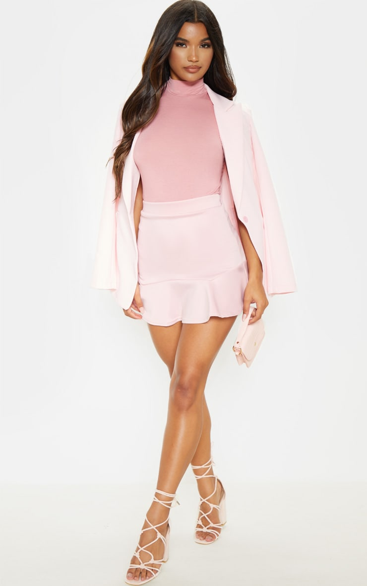 Rose Jersey Frill Shoulder Bodysuit 5