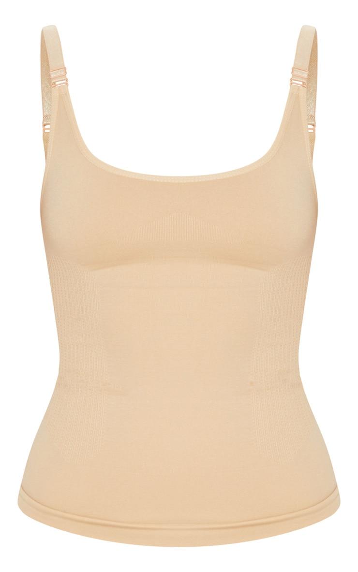 Nude Strappy Shapewear Vest 3